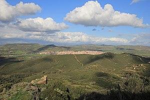 Sardara - Panorama from Monreale Castle