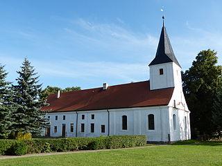 Sarnow Place in Mecklenburg-Vorpommern, Germany