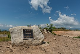 Sassafras Mountain, Elevation Marker 20160701 1.jpg