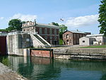 Sault Canal power house and workshop.JPG