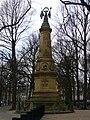 Saxen monument Lange Voorhout.JPG