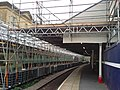 Scaffolding over platform 2 - Halifax station - geograph.org.uk - 1607371.jpg