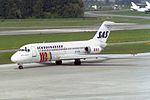 "Scandinavian Airlines - SAS McDonnell Douglas DC-9-21 OY-KID ""Rane Viking"" (26507283033).jpg"