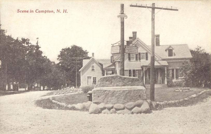 Scene in Campton, NH