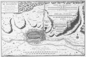 Battle of Sinsheim - Image: Schlacht bei Sinsheim