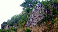 Schweinberg Castle (municipality Hardheim) defensive wall.JPG