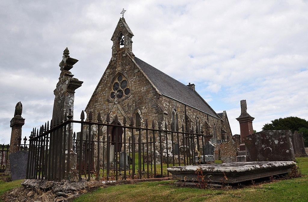 Eglise de Kilmory sur l'Isle d'Arran près de Glasgow en Ecosse - Photo de Vincent van Zeijst