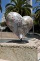 Sculpture, Hearts in San Francisco public art installation, Union Square, San Francisco, California LCCN2013630147.tif