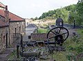 Seaham Harbour Beam Engine, Pockerley Waggonway, Beamish Museum, 28 August 2013.jpg