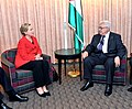 Secretary Clinton Holds a Bilateral With Palestinian President Abbas (5022310946).jpg