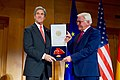 Secretary Kerry Poses With German Foreign Minister Steinmeier After Receiving the Order of Merit in Berlin (31297405282).jpg