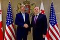 Secretary Kerry Shakes Hands with Georgian Prime Minister Kvirikashvili at the Chancellery in Tbilisi (27510502923).jpg