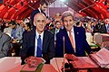 Secretary Kerry Sits With Special Envoy Stern Before the Plenary Session of COP21 in Paris (23702201915).jpg