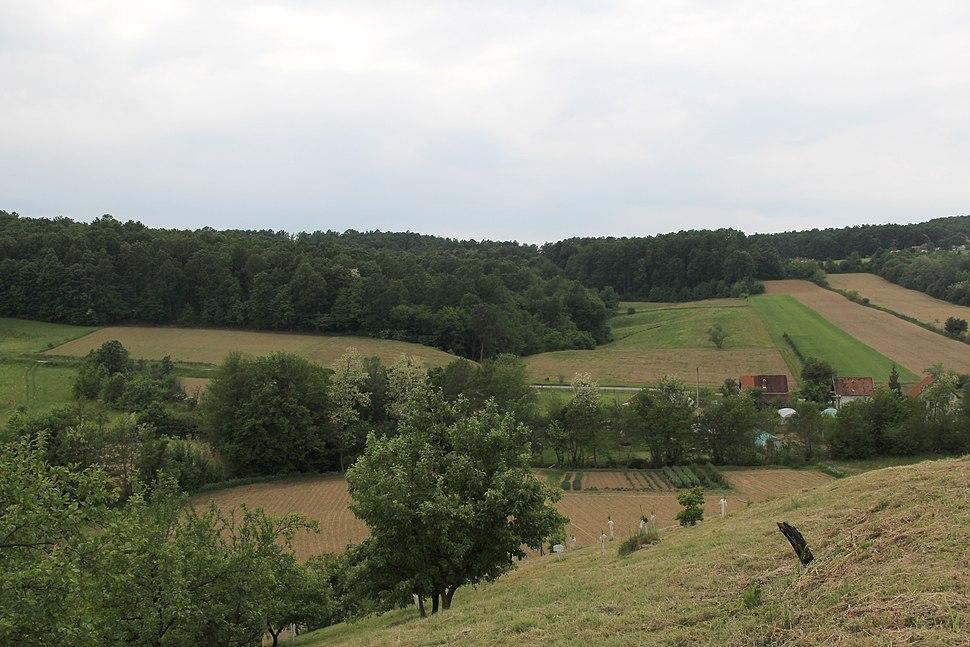 Selo Kotešica - opština Valjevo - zapadna Srbija - Panorama 15