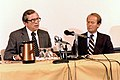 Sen. Howard Baker and Sen. Lamar Alexander Visit to ORO 1982 Oak Ridge (14539280233).jpg