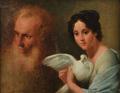 Senhora com pomba e ancião - Domingos Sequeira.png