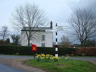 Comberbach - Image: Senna Green, Comberbach geograph.org.uk 147959