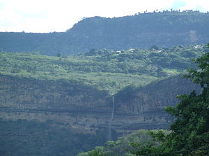 Serra de Ibiapaba - Serra da Ibiapaba (Ibiapaba mountain) and the Bica do Ipú (Spout of Ipu), by Anna Caselli