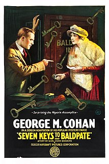 <i>Seven Keys to Baldpate</i> (1917 film) 1917 film by Hugh Ford