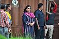 Shabana Azmi visits Rajesh Khanna's home Aashirwad 16.jpg