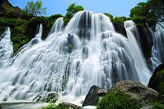 Shaki Waterfall - Image: Shaki Waterfall 2