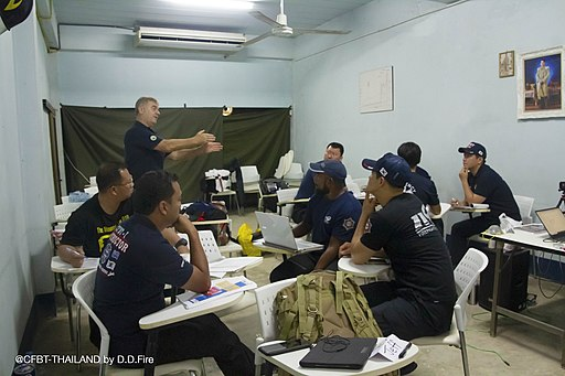 Shan Raffel 소방공무원 양재영 이형은 임중수 등 20190904D.D. Fire & Safety Co.,Ltd. CFBT-I Instructor and Tactical Ventilation Instructor International Course1