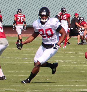 Sharrod Neasman - Neasman with the Atlanta Falcons in 2016