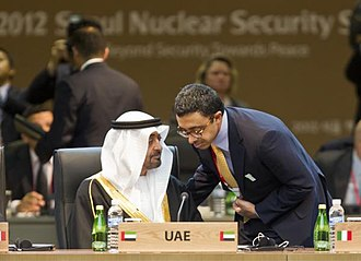 Mohammed bin Zayed Al Nahyan - Sheikh Mohammed representing UAE in the NSS 2012