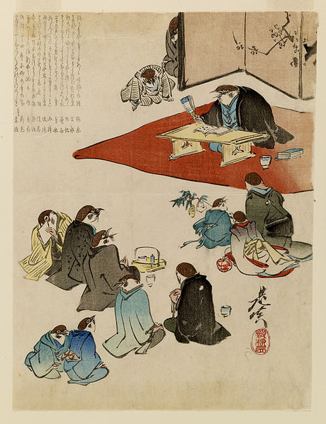 File:Shibata Zeshin - A Poetry Reading - Walters 95157.jpg
