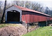 Shieldstown Covered Bridge 005 03A (Sheildstown, Jackson Cty).jpg
