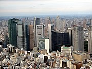 Shiodome Area from Tokyo Tower.jpg