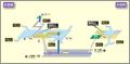 Shiyakusho station map Nagoya subway's Meijo line 2014.png