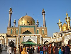 The Shrine of Lal Shahbaz Qalandar in Sehwan Sharif