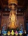 Shrine to a statue of the Eleven-Headed Guanyin (十一面觀音 or 十一面观音; Shiyimian Guanyin) in the Drum Tower (鼓樓 or 鼓楼) of Qita Temple (七塔寺) in Yingzhou, Ningbo, China Picture 3.jpg