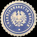 Siegelmarke 1. Garnisonarzt in Berlin W0210837.jpg