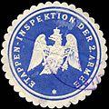 Siegelmarke Etappen - Inspektion der 2. Armee W0223834.jpg