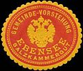 Siegelmarke Gemeinde-Vorstehung Ebensee Salzkammergut W0320605.jpg