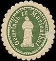 Siegelmarke Gemeinde zu Marienthal W0311231.jpg