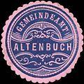 Siegelmarke Gemeindeamt Altenbuch W0355809.jpg