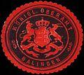 Siegelmarke Königliches Oberamt - Balingen W0261717.jpg