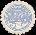 Siegelmarke Koenigreich Bayern - Gemeinde Berg am Laim W0211863.jpg