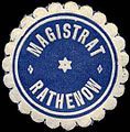 Siegelmarke Magistrat - Rathenow W0240232.jpg
