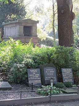 Sieveking-Mausoleum Alter Hammer Friedhof 03