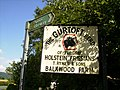 "Sign ""The Gurtoft Herd"" adjacent to A170 road - geograph.org.uk - 498974.jpg"