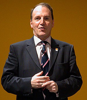 Liberal Democrats leadership election, 2006 - Simon Hughes, the party's president, also stood.