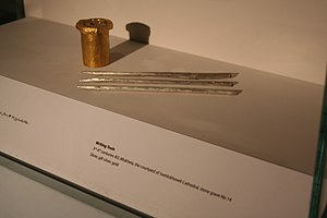 Writing implement - The 3rd-4th-century writing implements from Mtskheta, Georgia.