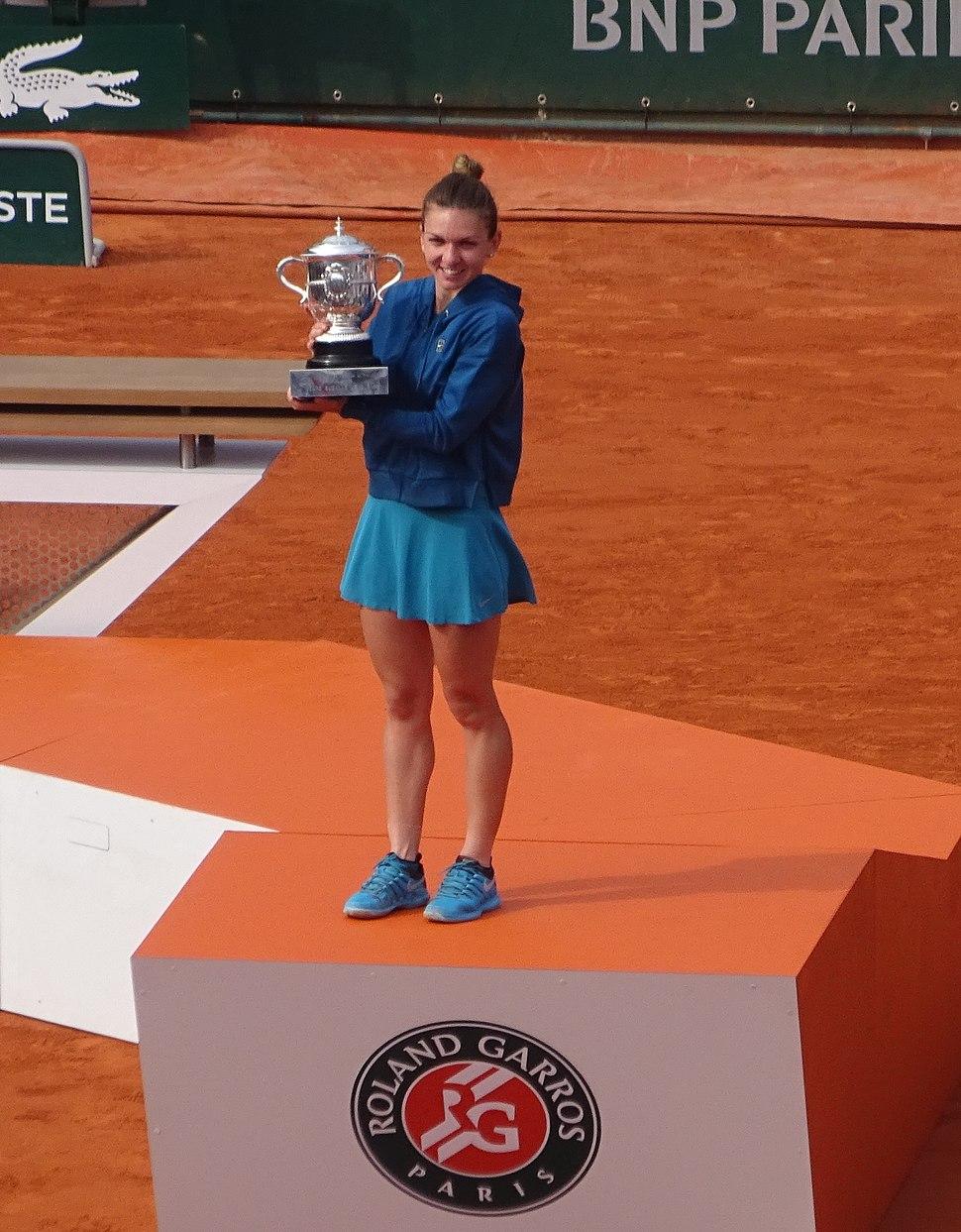 Simona Halep Roland Garros 2018