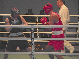 Kenny Egan - Egan (right) vs. Sinkevich in Gee Bee 2011