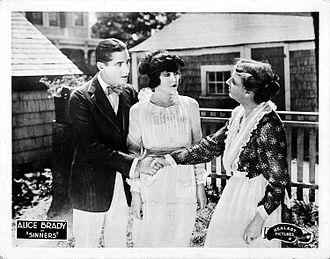 Sinners (1920 film) - Lobby card