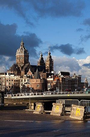 Sint-Nicolaaskerk in Amsterdam, Netherlands